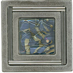 Miila Studios Aluminum Monte Carlo 4 x 4 Monte Carlo Royal Lake Tile & Stone