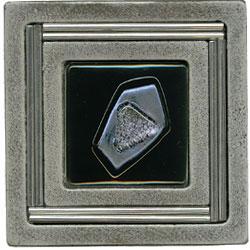 Miila Studios Aluminum Monte Carlo 4 x 4 Monte Carlo Sapphire Tile & Stone