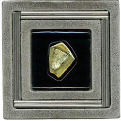 Miila Studios Aluminum Monte Carlo 4 x 4 Monte Carlo With Green Amber Tile & Stone