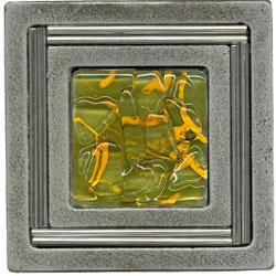 Miila Studios Aluminum Monte Carlo 4 x 4 Monte Carlo With Green Tiger Tile & Stone