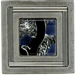 Miila Studios Aluminum Monte Carlo 4 x 4 Monte Carlo With Gypsy Silver Tile & Stone