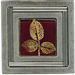 Miila Studios Aluminum Monte Carlo 4 x 4 Monte Carlo With Small Leave Tile & Stone