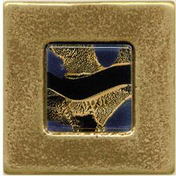 Miila Studios Bronze Barcelona 2 x 2 Barcelona With Gypsy Gold Tile & Stone