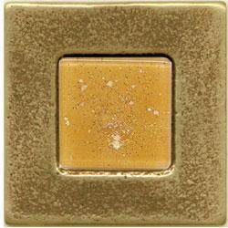 Miila Studios Bronze Barcelona 2 x 2 Barcelona With Peach Ice Tile & Stone