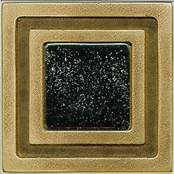 Miila Studios Bronze Milan 4 x 4 Milan With Black Sky Tile & Stone