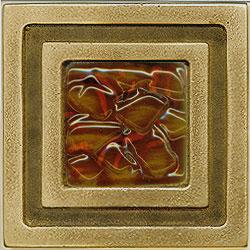 Miila Studios Bronze Milan 4 x 4 Milan With Brandy Tile & Stone