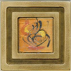 Miila Studios Bronze Milan 4 x 4 Milan With Carnival Tile & Stone
