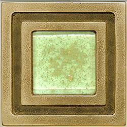 Miila Studios Bronze Milan 4 x 4 Milan With Citron Tile & Stone