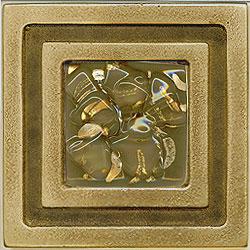 Miila Studios Bronze Milan 4 x 4 Milan With Grey Dawn Tile & Stone