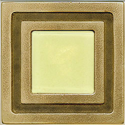 Miila Studios Bronze Milan 4 x 4 Milan With Light Lemon Tile & Stone