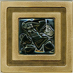 Miila Studios Bronze Milan 4 x 4 Milan With Midnight Sky Tile & Stone