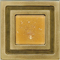 Miila Studios Bronze Milan 4 x 4 Milan With Peach Ice Tile & Stone