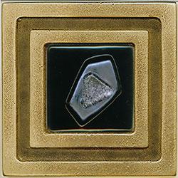 Miila Studios Bronze Milan 4 x 4 Milan With Sapphire Tile & Stone
