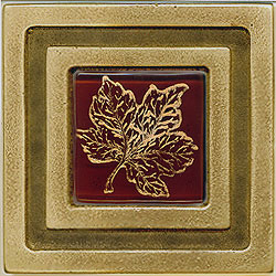 Miila Studios Bronze Milan 4 x 4 Milan With Small Maple Tile & Stone