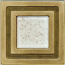Miila Studios Bronze Milan 4 x 4 Milan With Snowfall Tile & Stone