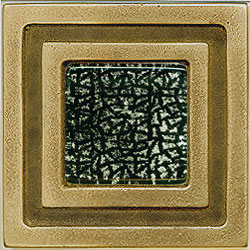Miila Studios Bronze Milan 4 x 4 Milan With Snowy Forest Tile & Stone