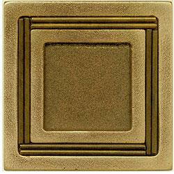 Miila Studios Bronze Monte Carlo 4 x 4 Monte Carlo Tile & Stone