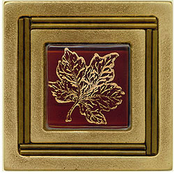 Miila Studios Bronze Monte Carlo 4 x 4 Monte Carlo With Small Maple Tile & Stone