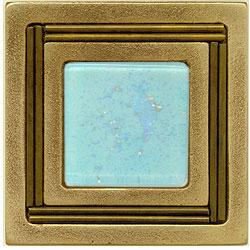Miila Studios Bronze Monte Carlo 4 x 4 Monte Carlo With Light Taupe Tile & Stone