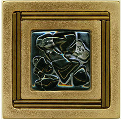 Miila Studios Bronze Monte Carlo 4 x 4 Monte Carlo With Midnight Sky Tile & Stone