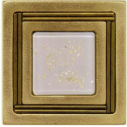 Miila Studios Bronze Monte Carlo 4 x 4 Monte Carlo With Orchid Tile & Stone