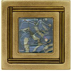 Miila Studios Bronze Monte Carlo 4 x 4 Monte Carlo With Royal Lake Tile & Stone