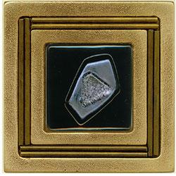 Miila Studios Bronze Monte Carlo 4 x 4 Monte Carlo With Sapphire Tile & Stone