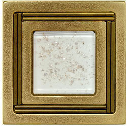Miila Studios Bronze Monte Carlo 4 x 4 Monte Carlo With Snowfall Tile & Stone