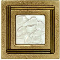 Miila Studios Bronze Monte Carlo 4 x 4 Monte Carlo With White Mist Tile & Stone
