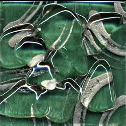 Miila Studios Stony Creek Glass Tile 6 x 6 Ivy Tile & Stone