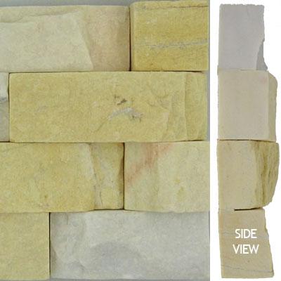 Norstone Stack Stone Corner Piece Ivory Tile & Stone