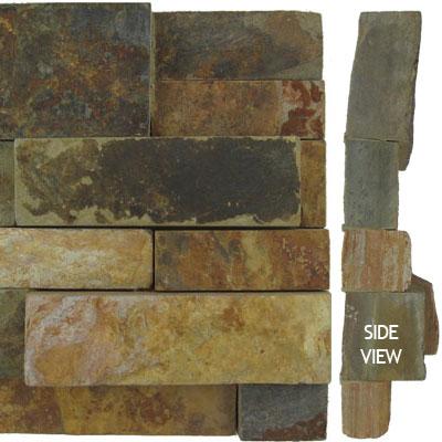 Norstone Stack Stone Corner Piece Ochre Tile & Stone