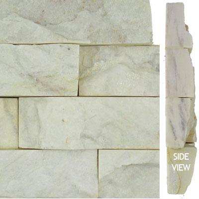 Norstone Stack Stone Corner Piece White Tile & Stone
