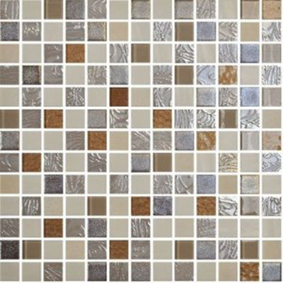 Onix Mosaico Mystic Glass Mosaic Amber Tile & Stone