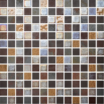 Onix Mosaico Mystic Glass Mosaic Savina Tile & Stone