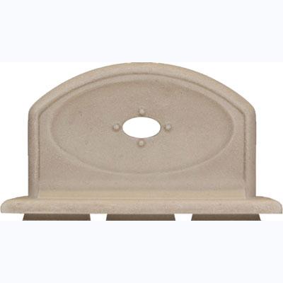 Questech Portico Bath Accessories Travertine Soap Tub 8 Inch Tile & Stone