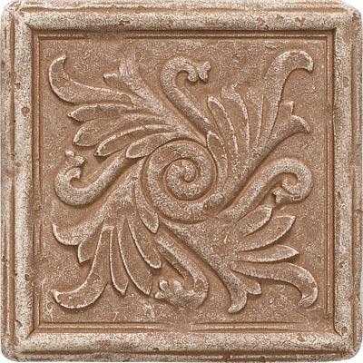 Questech Dorset Decoratives - Noche Fiddlehead Deco Tile & Stone