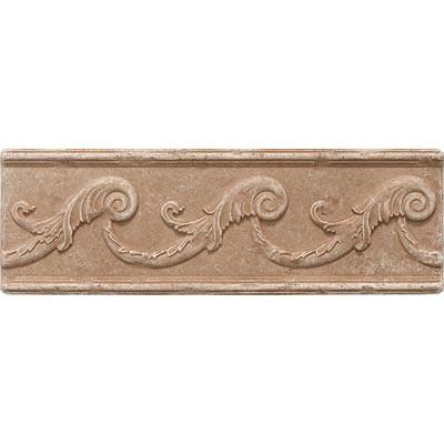 Questech Dorset Decoratives - Noche Fiddlehead Liner Tile & Stone