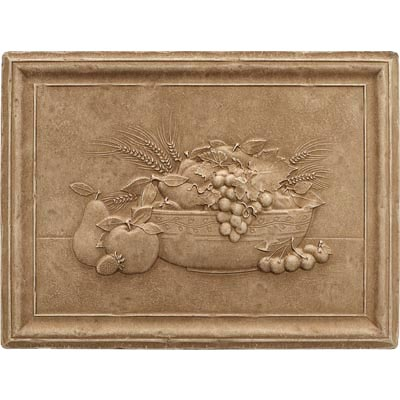 Questech Dorset Decoratives - Noche Fruit Bowl Mural Tile & Stone