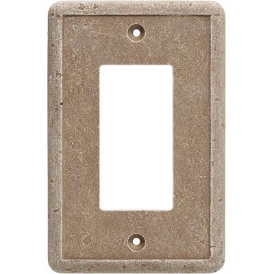 Questech Dorset Switch Plates - Noche Single GFCI Tile & Stone