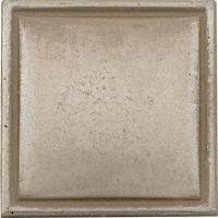 Questech Fusion Cast Metal Dome Dots Aspen Silver Tile & Stone