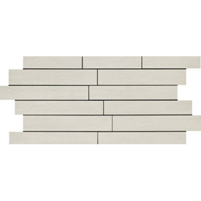 Ragno Revision 12 x 24 Mosaic Bianco Tile & Stone