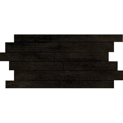 Ragno Revision 12 x 24 Mosaic Black Tile & Stone