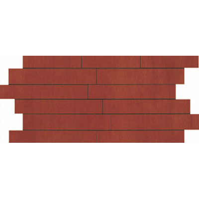 Ragno Revision 12 x 24 Mosaic Red Tile & Stone