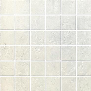 Serenissima Ceramics Liberty Mosaic Bianco Tile & Stone