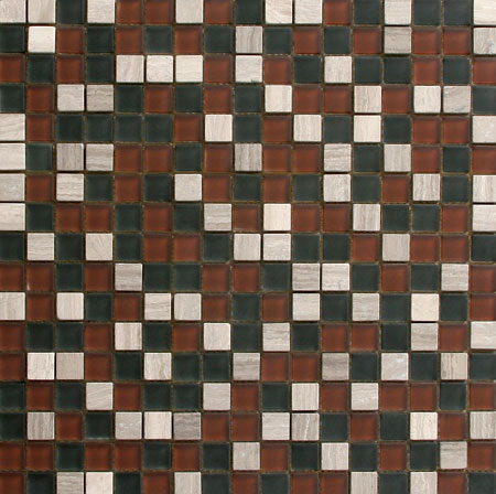 Solistone Opera Glass/Marble Mosaic Adagio Tile & Stone