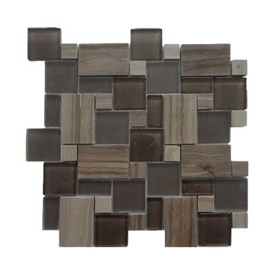Solistone Opera 12 x 12 Bel Canto Dark Tile & Stone