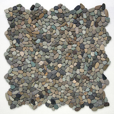 Solistone Micro Pebbles Cayman Blue Tile & Stone