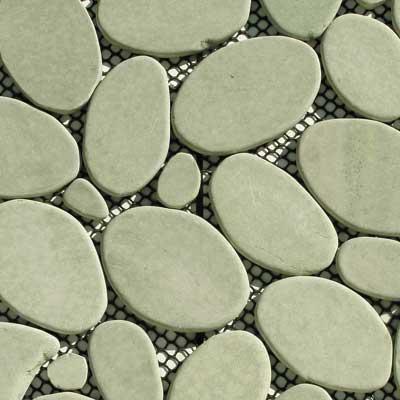 Solistone Royale Pebbles Mosaic Andoa Tile & Stone