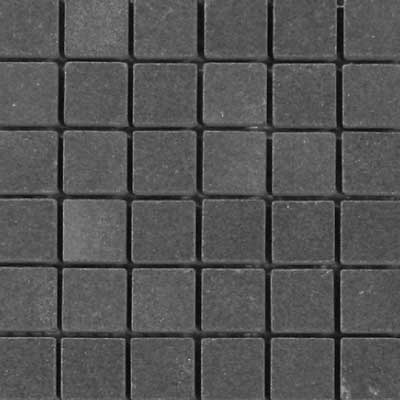 Solistone Charcoal Sandstone Charcoal Square Mosaic Tile & Stone
